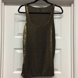 Anne Taylor Sequin Tank